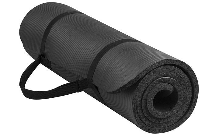 BalanceFrom GoYoga 1/2 Inch Extra Thick Yoga Mat